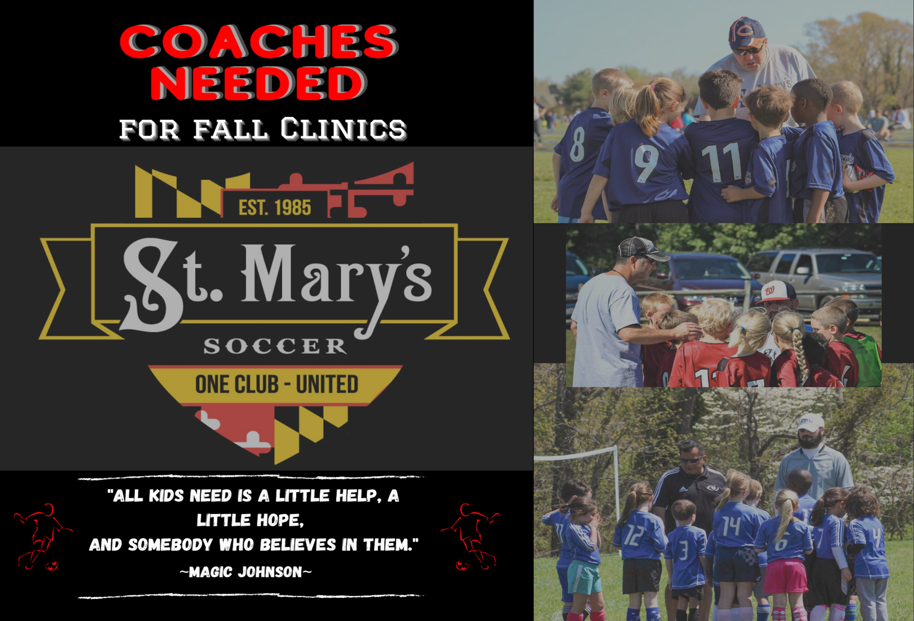 Fall 2020 Clinic Coaches Needed